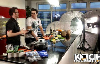 Simon Baumgarten bei Kochhelden.tv