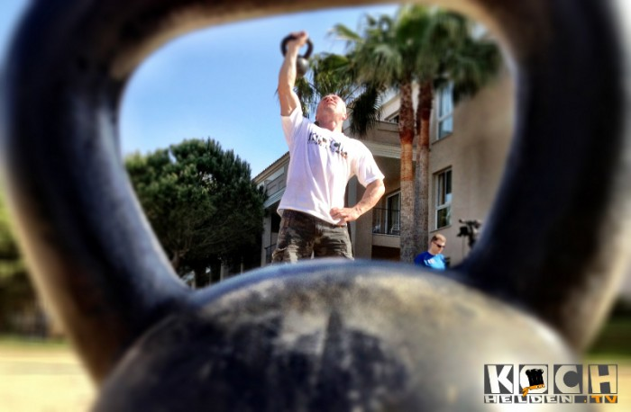 Kettlebell -Menshealthcamp - www.kochhelden.tv