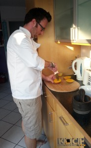 Mangoschneiden gibts auch als Video in den Kochbasics