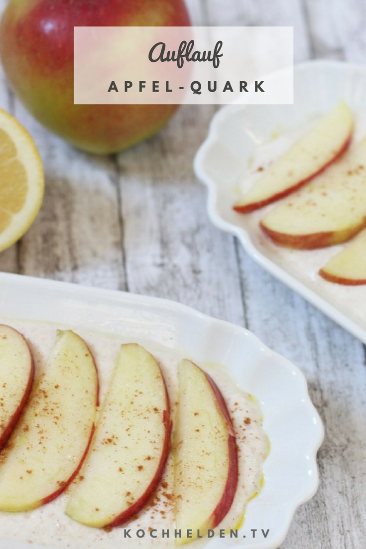 Apfel-Quark-Auflauf - www.kochhelden.tv