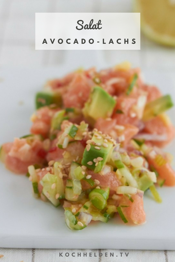 Avocado-Lachs-Salat - www.kochhelden.tv