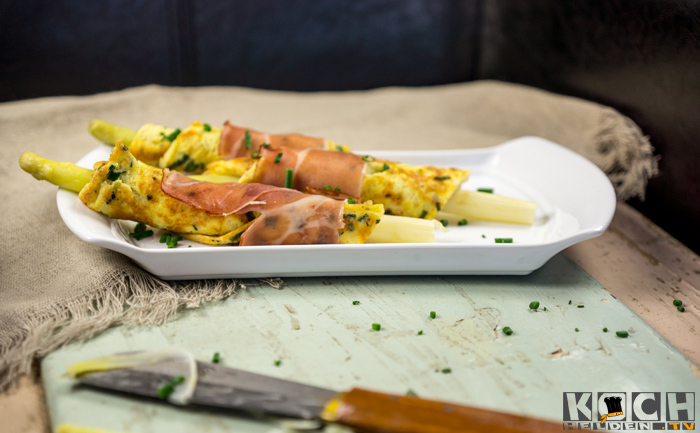 Spargel-Omelette