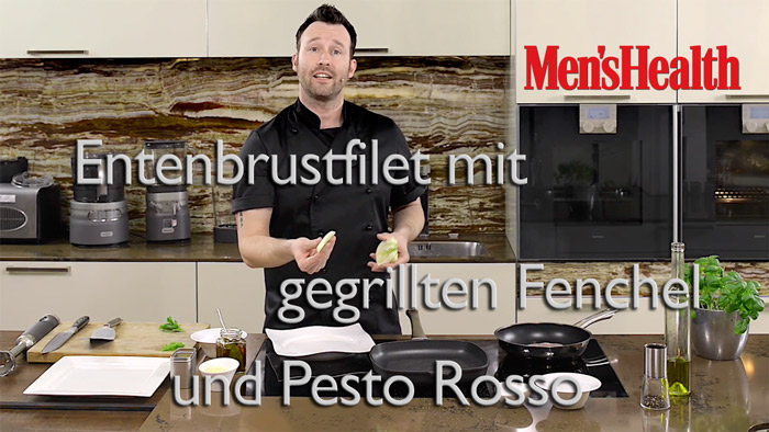 Entenbrust-Fenchel
