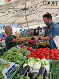Auf dem Markt - www.kochhelden.tv