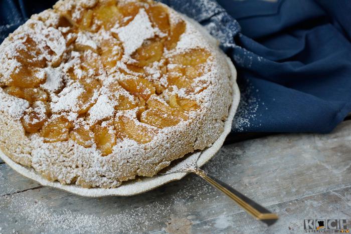 Lowcarb-Apfelkuchen - www.kochhelden.tv