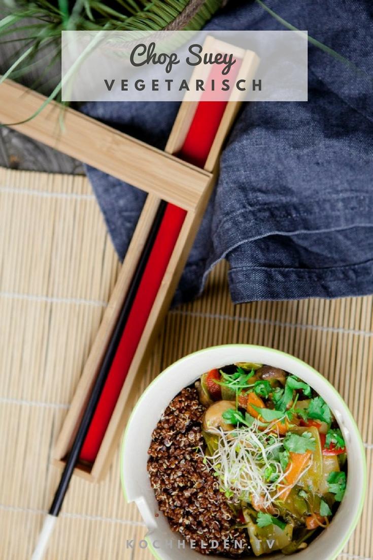 Chop Suey vegetarisch - www.kochhelden.tv