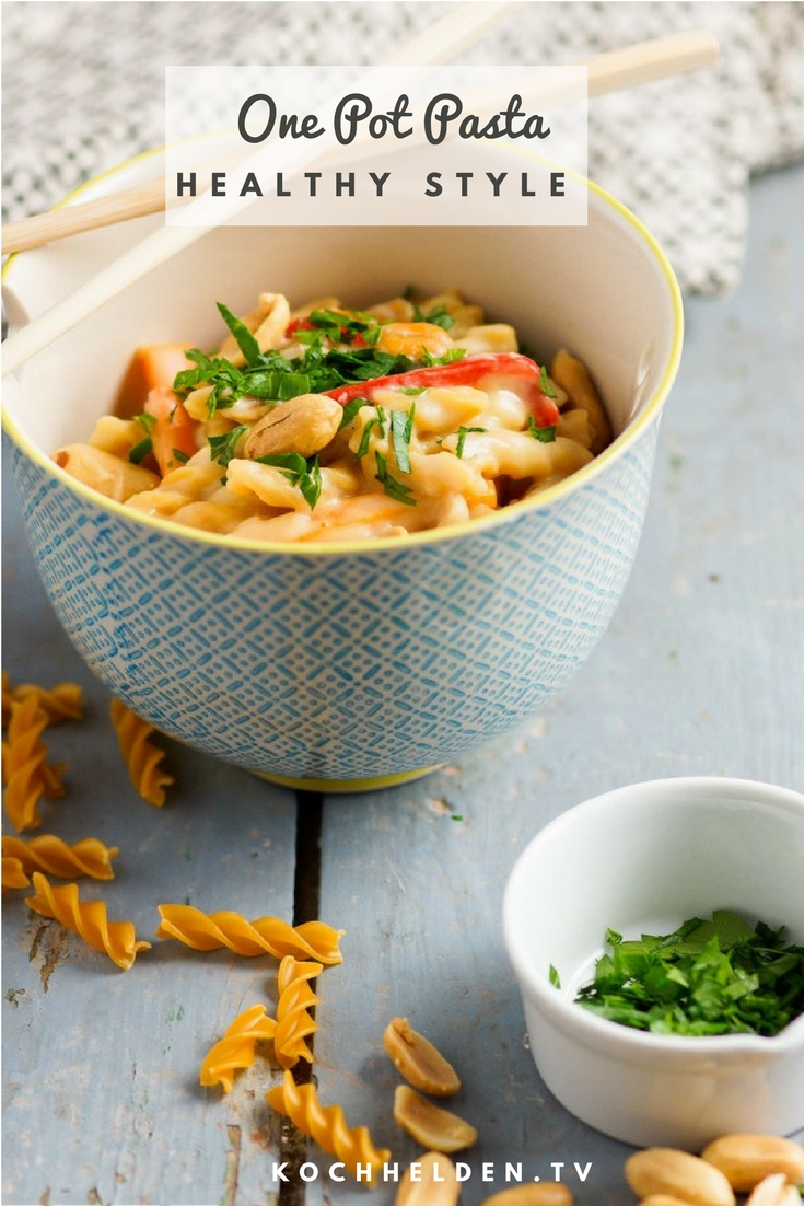 One Pot Pasta healthy - www.kochhelden.tv