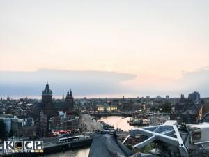 Blick von der Skylounge Double tree by Hilton - www.kochhelden.tv