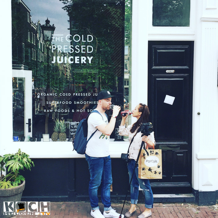 Cold pressed jucery Amsterdam - www.kochhelden.tv