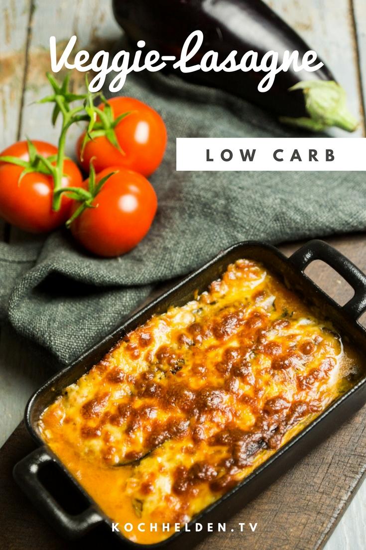 Veggie-Lasagne low carb - www.kochhelden.tv