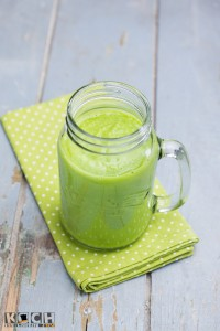 Spinach Sour - Smoothie - www.kochhelden.tv