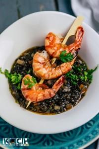 Spicy Lentils and shrimps - www.kochhelden.tv