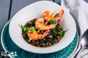 Spicy Lentils and shrimps - www.kochhelden.tv