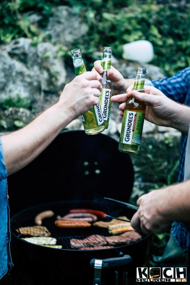 Gründels Fresh Alkoholfrei - www.kochhelden.tv