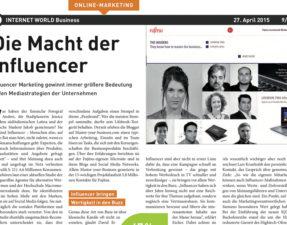 Macht der Influencer - www.kochhelden.tv