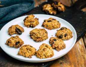 Müsli-Cookies mit Cranberries - www.kochhelden.tv