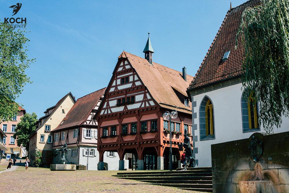 Marktplatz Plochingen - www.kochhelden.tv
