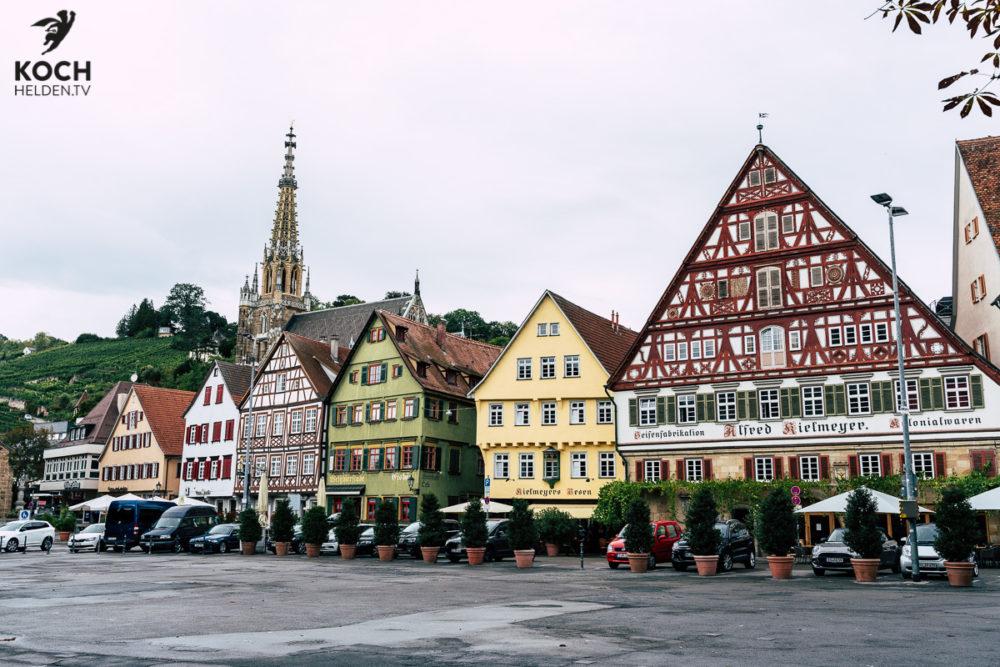 Marktplatz Esslingen - www.kochhelden.tv