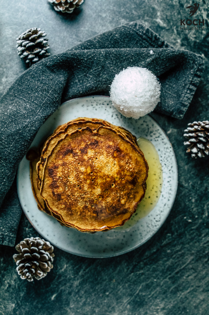 Lebkuchen-Pfannkuchen - www.kochhelden.tv