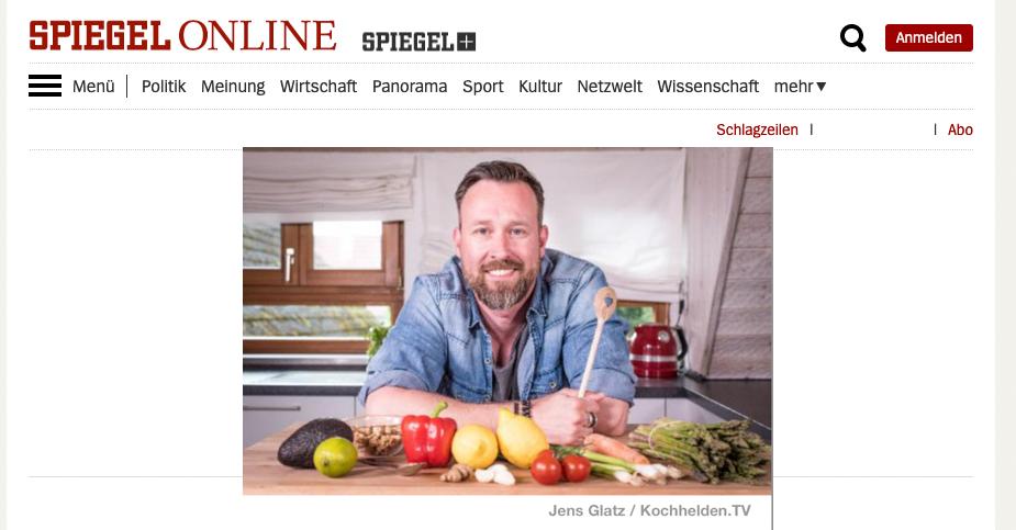 SPIEGEL ONLINE Interview - www.kochhelden.tv