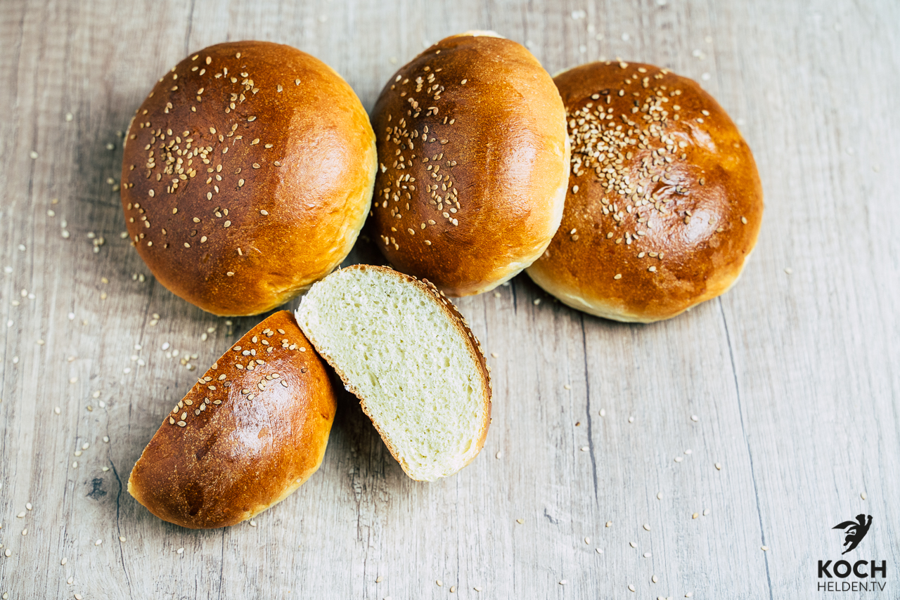 Burger Buns | Brioche - www.kochhelden.tv
