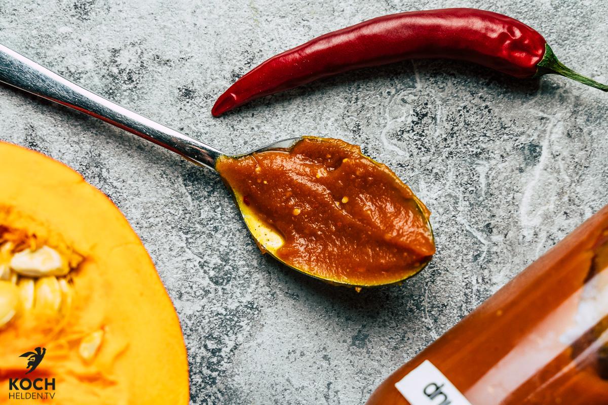 Kürbis-Chili-Ketchup - www.kochhelden.tv